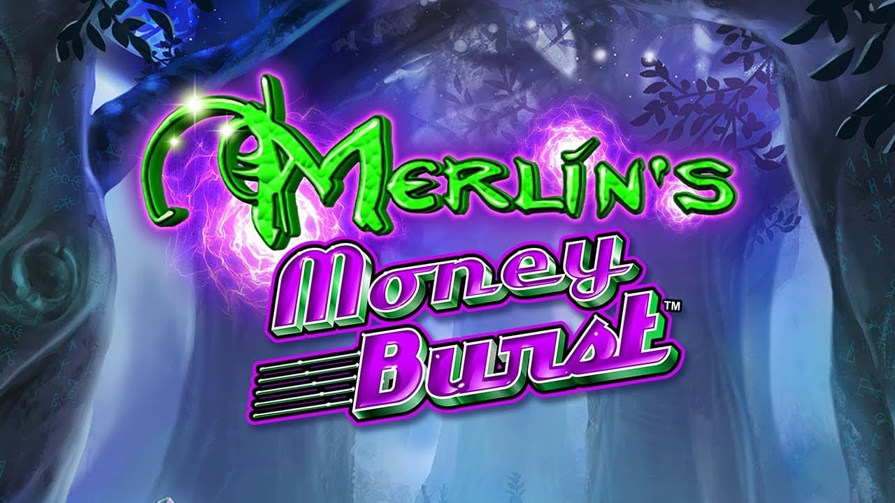 Merlin's Money Burst Logo Slot Machine