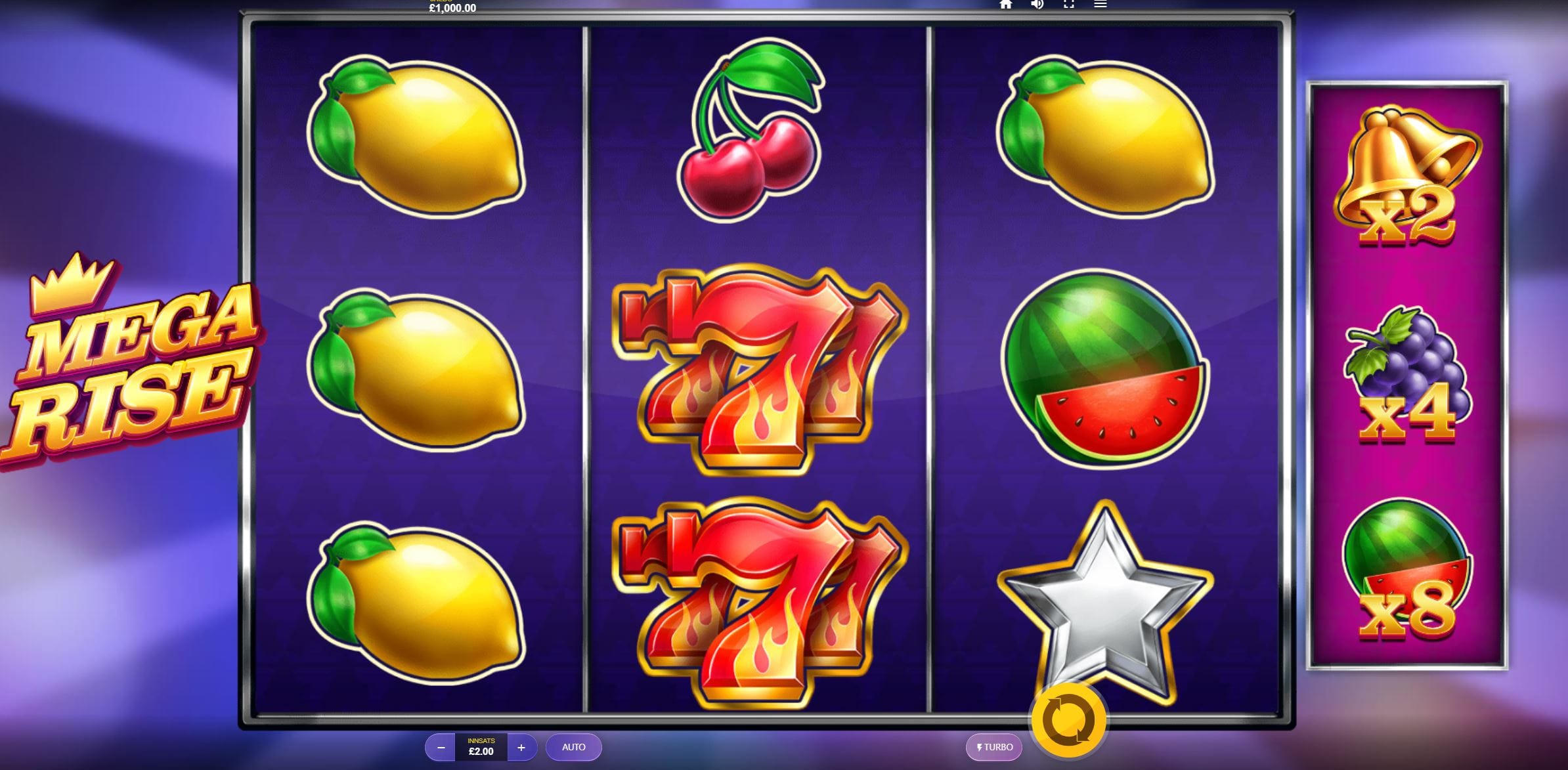 mega rise barbados bingo win