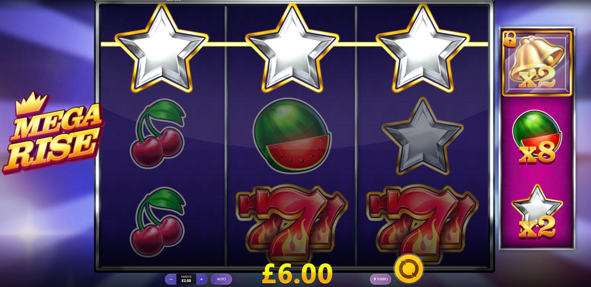 mega rise barbados bingo gameplay