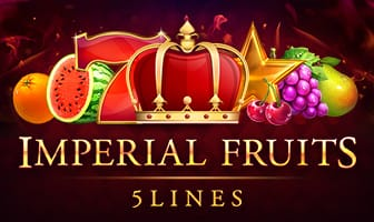 Imperial Fruits: 5 Lines Slot Logo