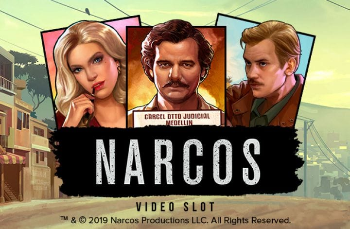 Narcos Video Slot Logo