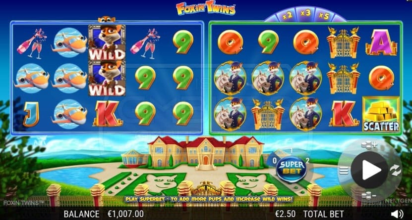 Foxin' Twins Slot Gameplay