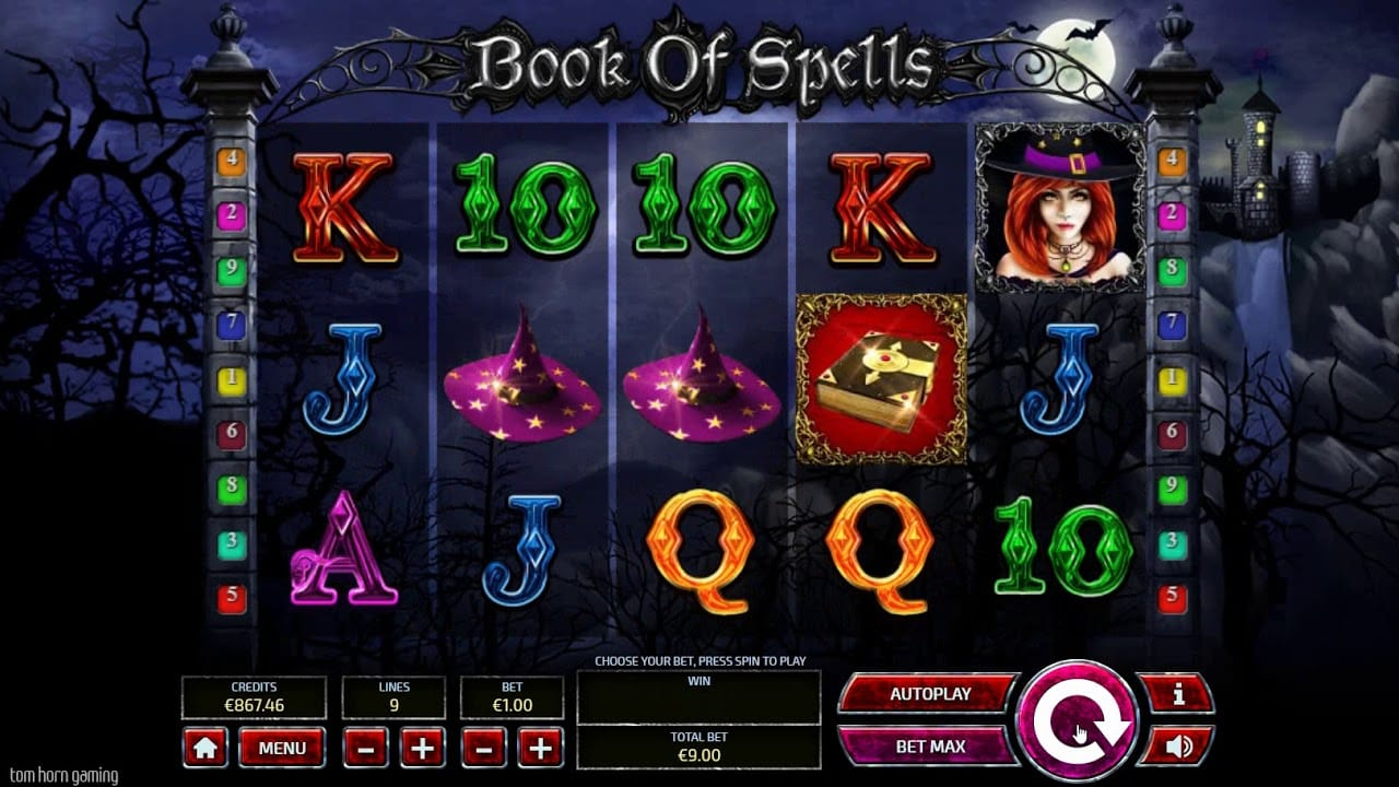 book of spells game slots