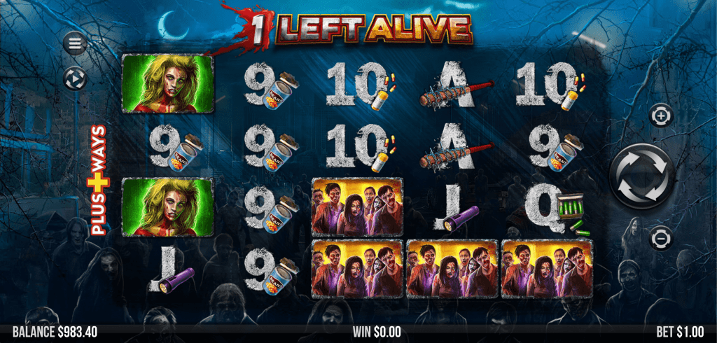 1 Left Alive Slots Casino Game