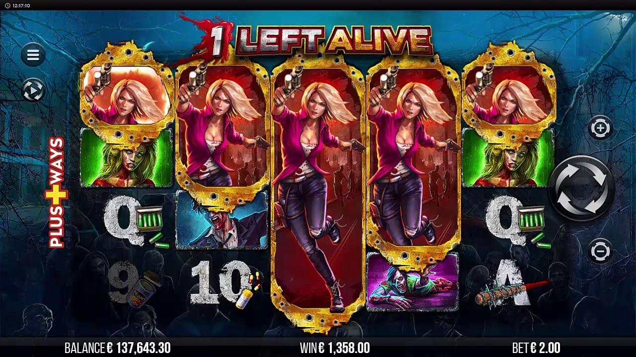 1 Left Alive UK Slots Game Play