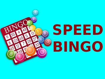 Play Speed Bingo Online