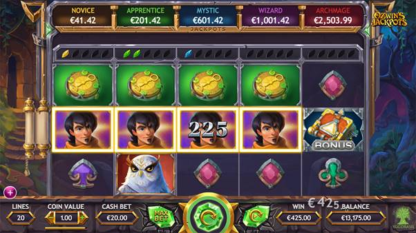 Ozwin's Jackpots screenshot