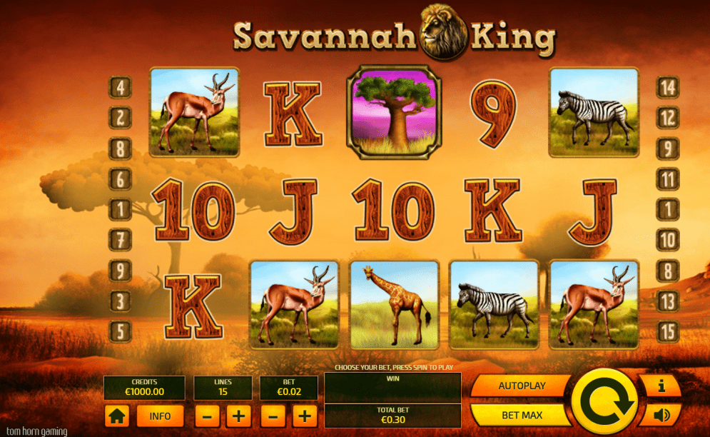 savannah king casino