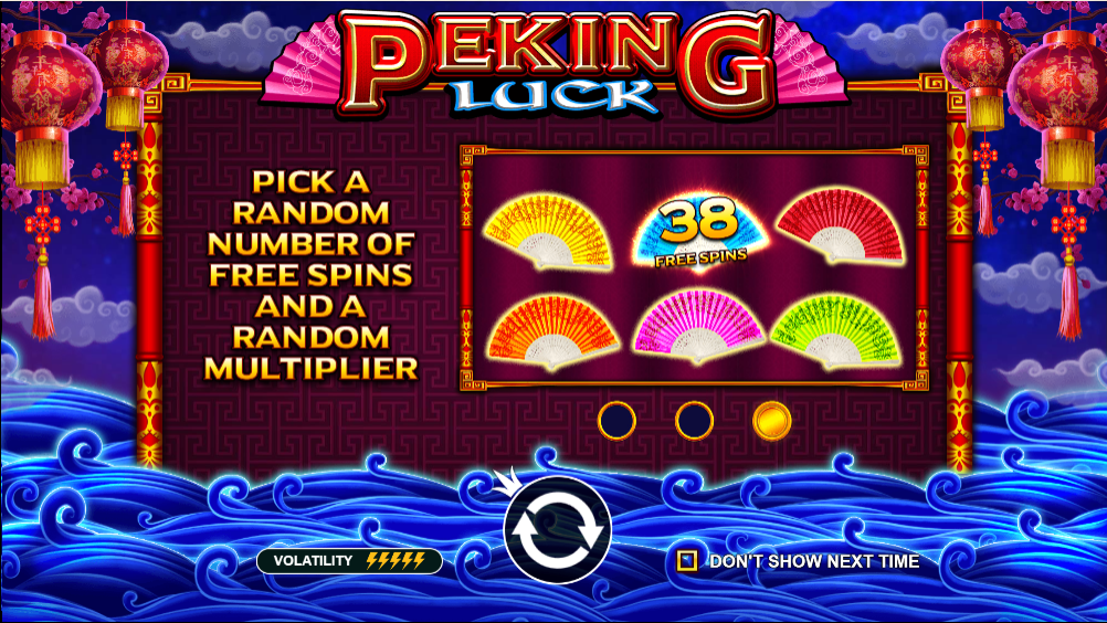 peking luck casino game