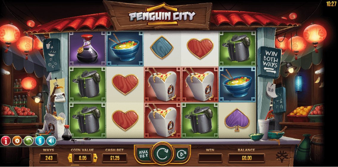 penguin smash casino game