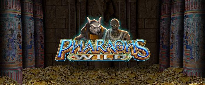 Pharaoh's Wild logo