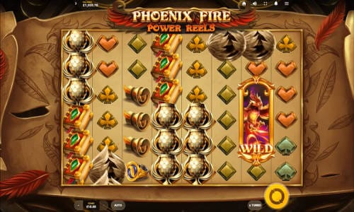 Phoenix Fire Power Reel Casino Gameplay