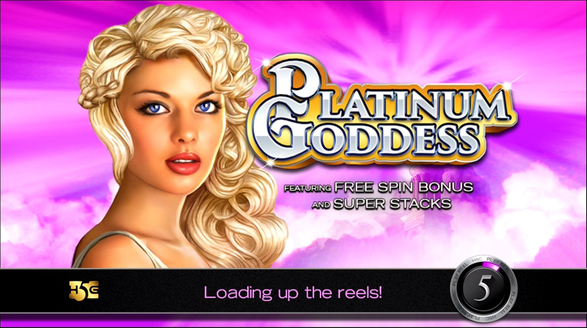 Platinum Goddess Barbados Bingo Slot