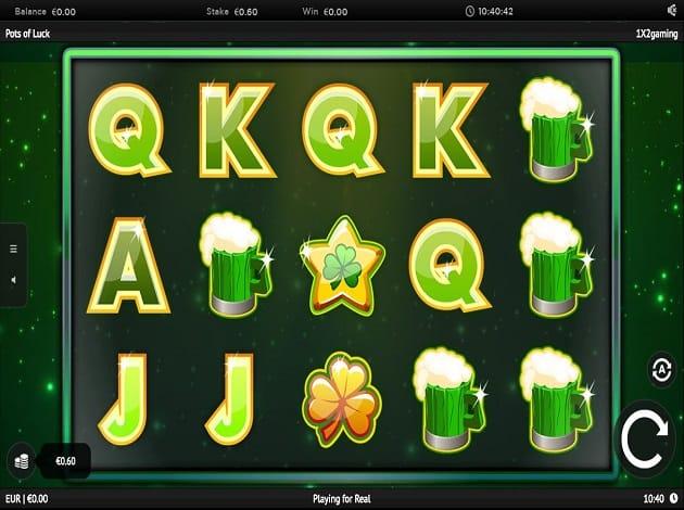 pots of luck gameplay bingo