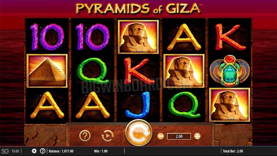 Pyramids of Giza Gameplay Casino