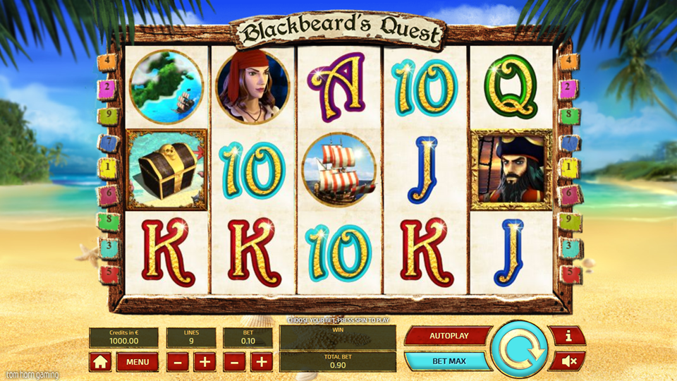 blackbeard's quest casinos