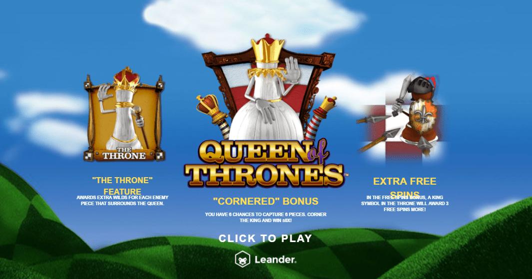 queen of thrones game slots