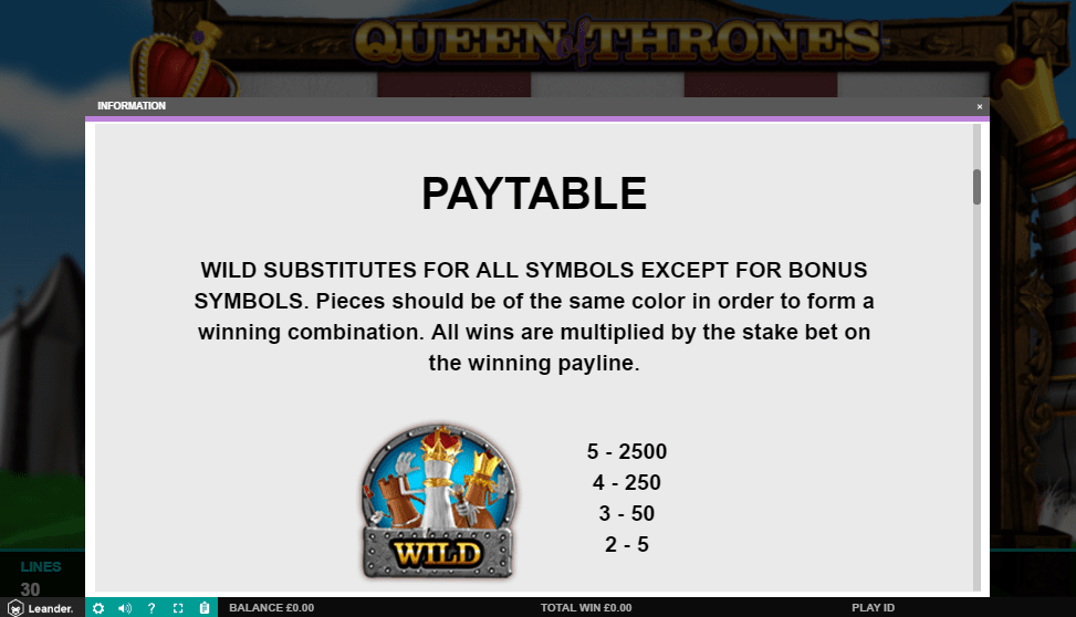 queen of thrones game slots casino