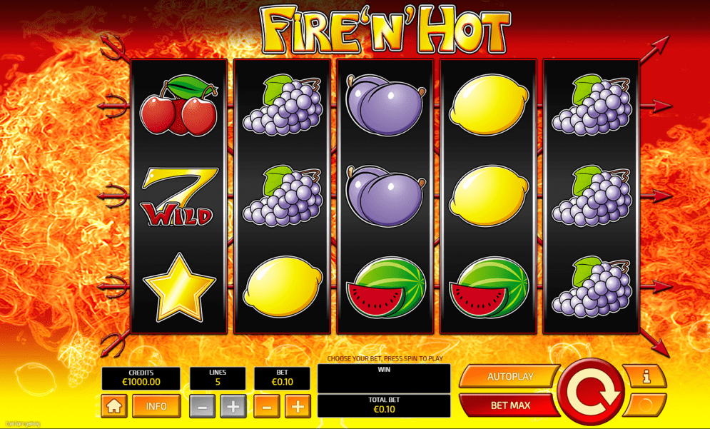 fire n hot casino