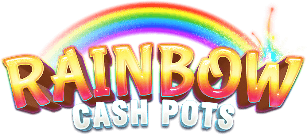 Rainbow Cash Pots Logo Slot