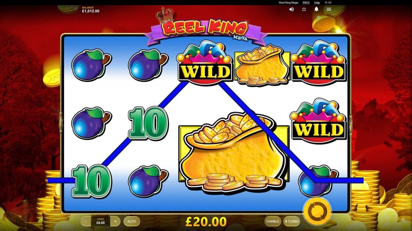 Reel King Mega Slot Bonus