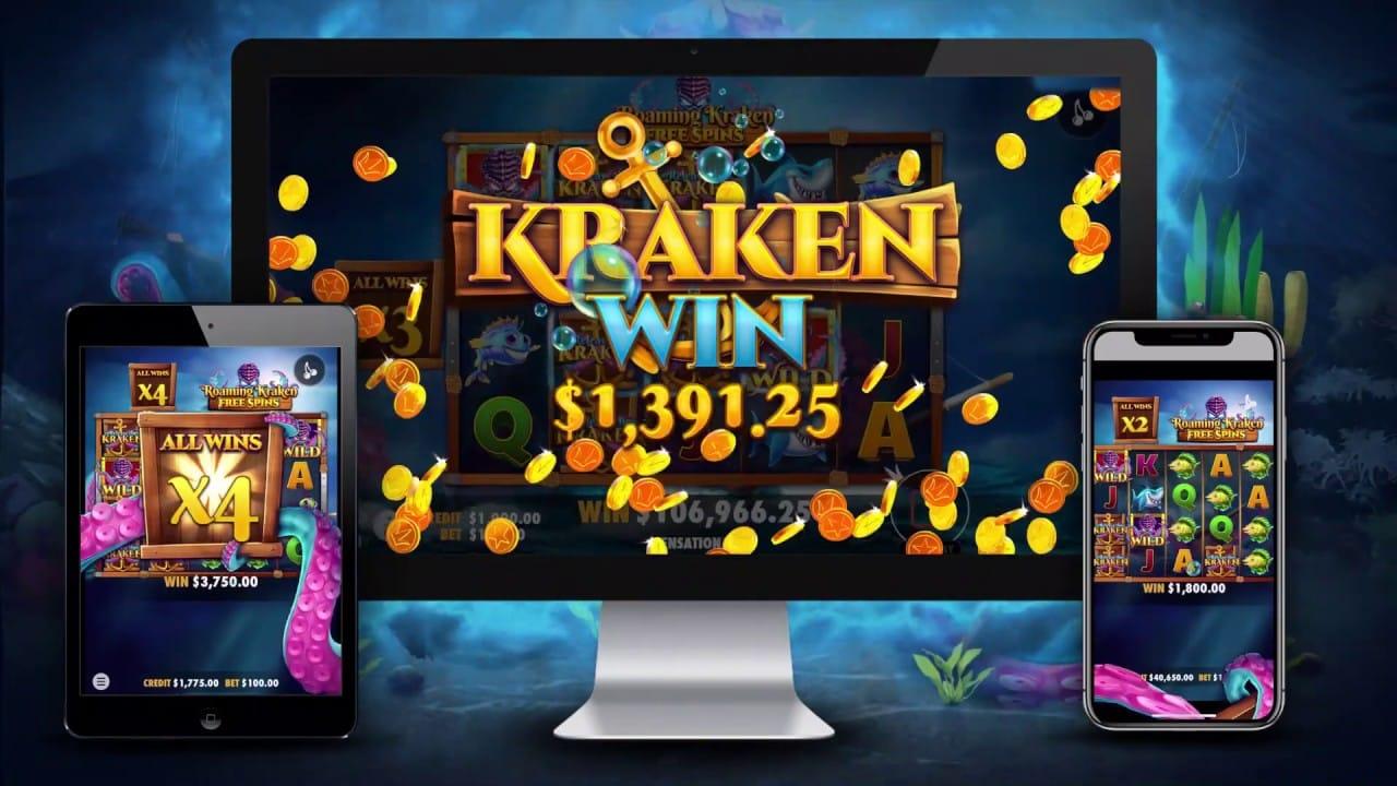Release the Kraken Mobile Slots