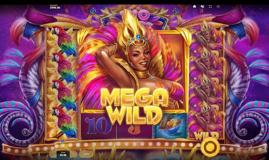 Rio Stars Slots Mega Wild