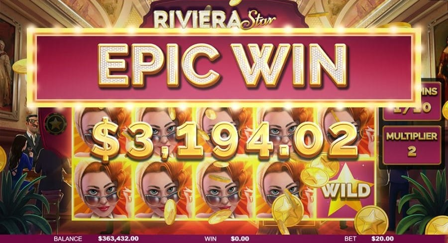 Riviera Star Epic Win