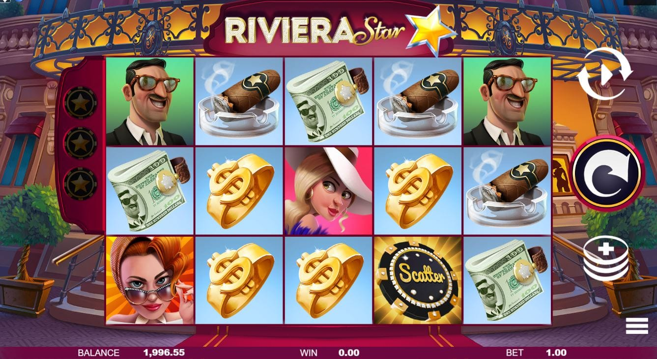 Riviera Star UK Slots