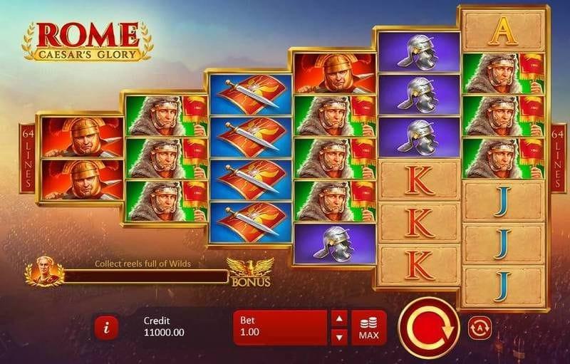 Rome: Ceasar's Glory UK Casino Game