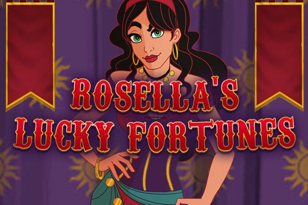 Rosellas Lucky Fortune slot logo