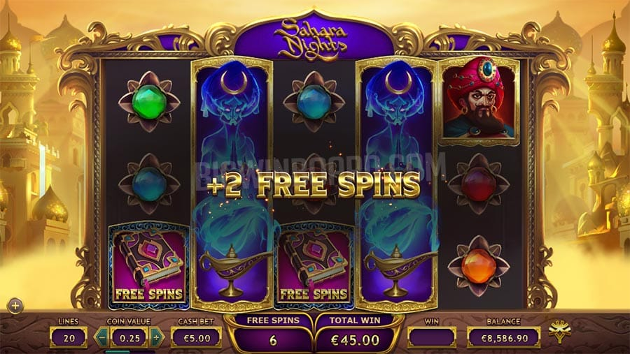 sahara nights gameplay barbados bingo