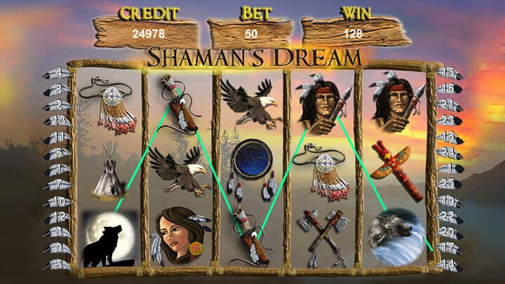 Shamans Dream Jackpot gameplay