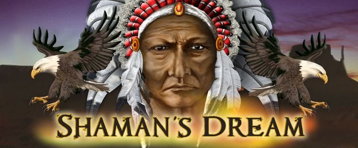 Shamans Dream Jackpot logo