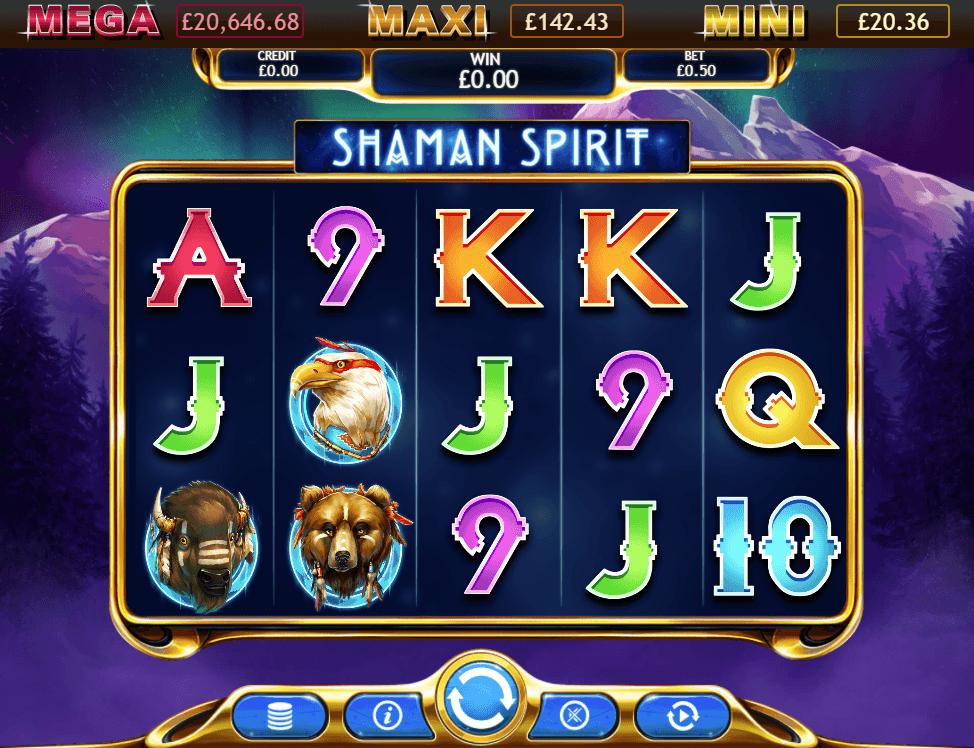 Shaman Spirit Jackpot gameplay