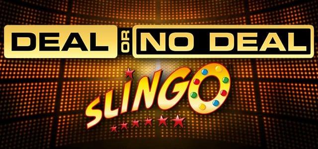 Slingo Deal or No Deal Slot Banner