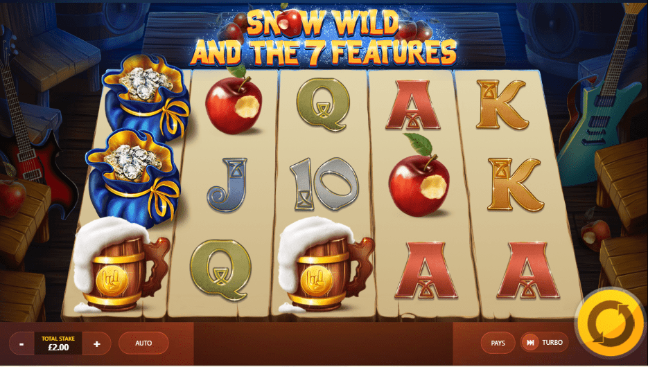 snow wild seven features slots