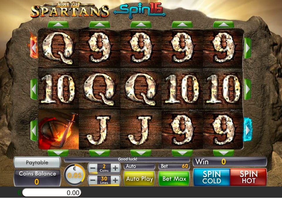 Age of Spartans Spin16 gameplay