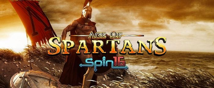 Age of Spartans Spin16 logo