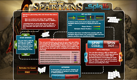 Age of Spartans Spin16 screenshot