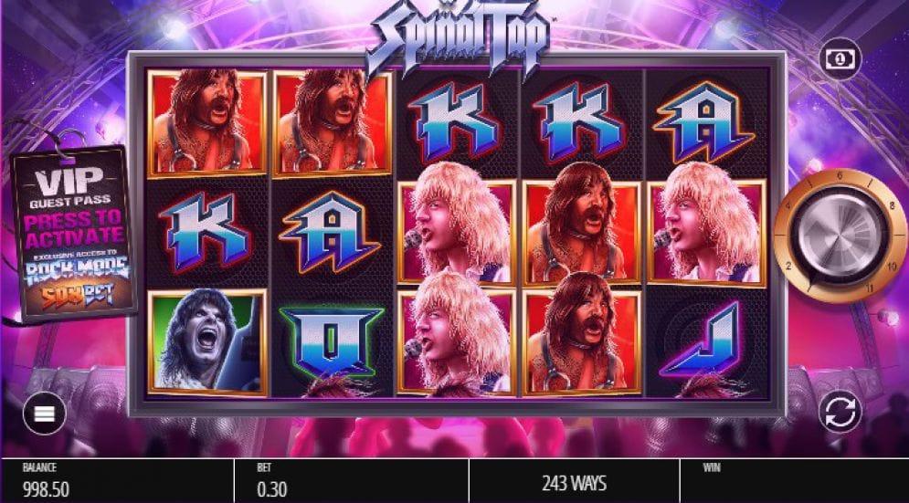 Barbados Bingo Slot Spinal Tap