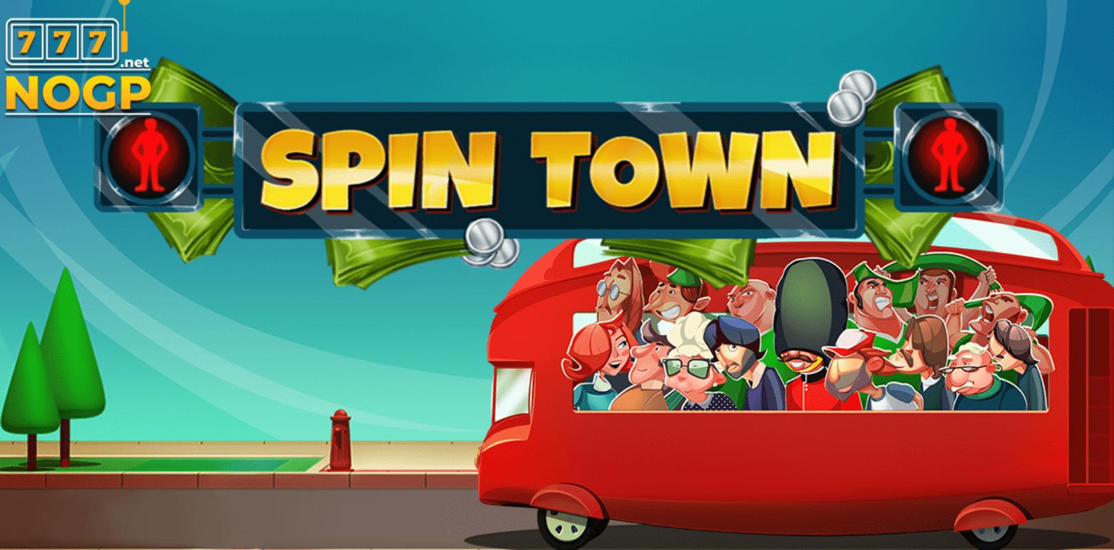 Spin Town Logo Slot