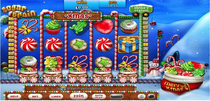 Sugar Train Xmas Jackpot screenshot