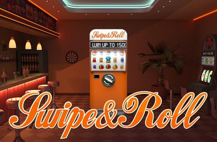 Swipe & Roll Logo Slot