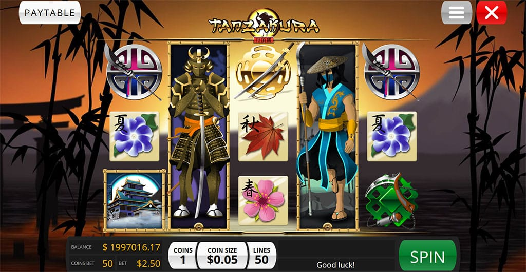 Tanzakura Gameplay Casino
