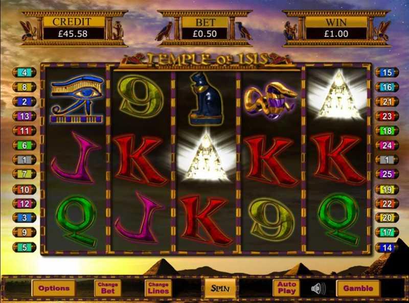 Temple of Iris Jackpot gameplay