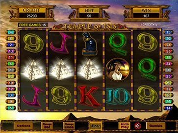 Temple of Iris Jackpot screenshot