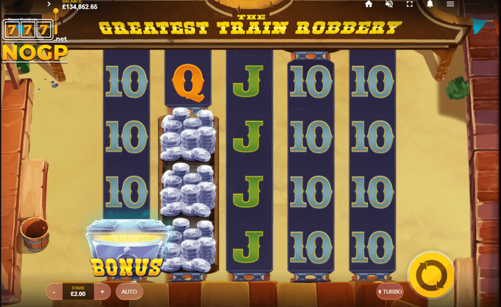 The Greatest Train Robbery Casino Gameplay