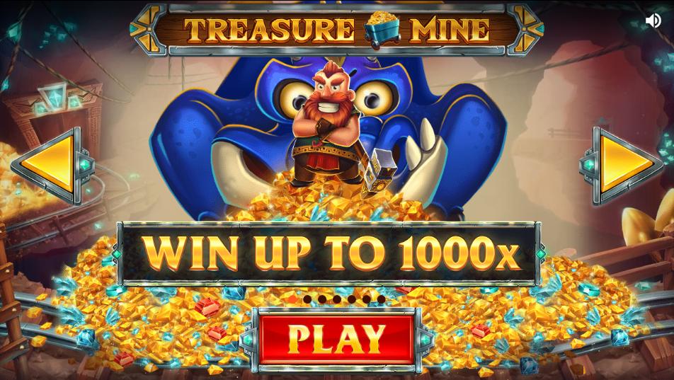 treasure mine spins