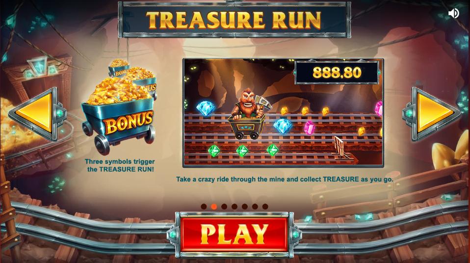 treasure mine spins slots